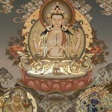Tchenresi dorado