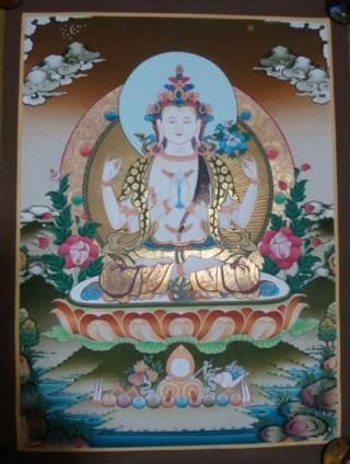 Chenresi, Buda de la compasión
